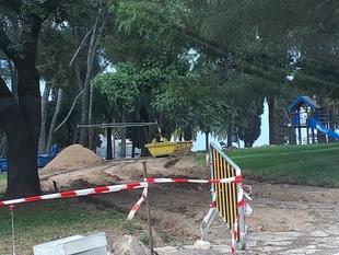 Arrancan las obras de mejora de la accesibilidad del parque de la Alcazaba