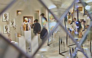 Artistas del Casco Antiguo de Badajoz exponen 41 obras en la sala Vaquero Poblador