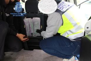 Ingresa en prisión un joven por portar más de 1 kilo de cocaína en su vehículo
