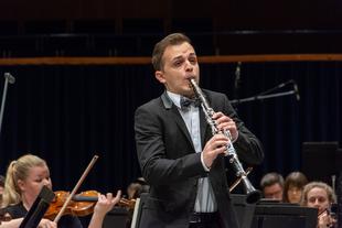 El XXI Ciclo 'Hojas de Álbum' acogerá un recital del clarinetista extremeño Víctor Díaz y el pianista José María Villegas
