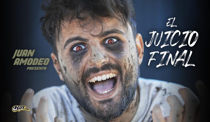 El humorista sevillano, Juan Amodeo, presenta este viernes un nuevo espectáculo de humor titulado 'El juicio final'
