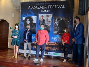 Manuel Carrasco, Ara Malikian y Taburete protagonizan el cartel de Alcazaba Festival 2021
