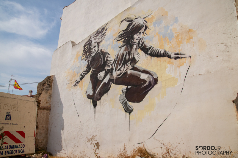 15 artistas de distintos puntos del país participarán en la 2ª edición del certamen de arte urbano 'Badajoz Pinta'