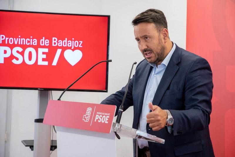 El PSOE tiende la mano para que Badajoz pueda tener una estabilidad política en lo que queda de legislatura