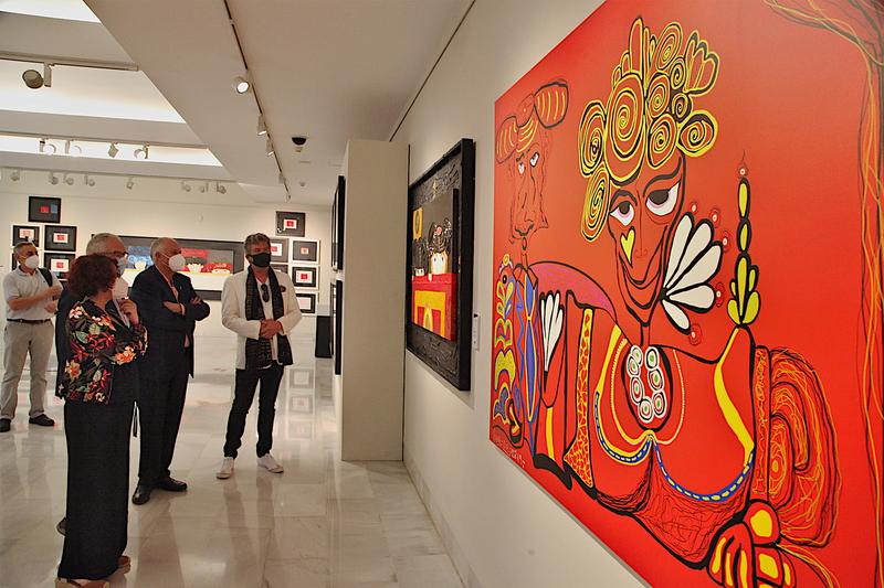 Inaugurada la exposición 'Toreros Y.' de Juan E. Mendoza