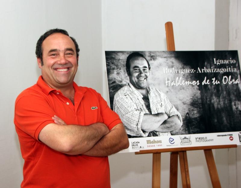 Ignacio Rodríguez-Arbaizagoitia inaugura las jornadas culturales ''Hablemos de tu Obra''