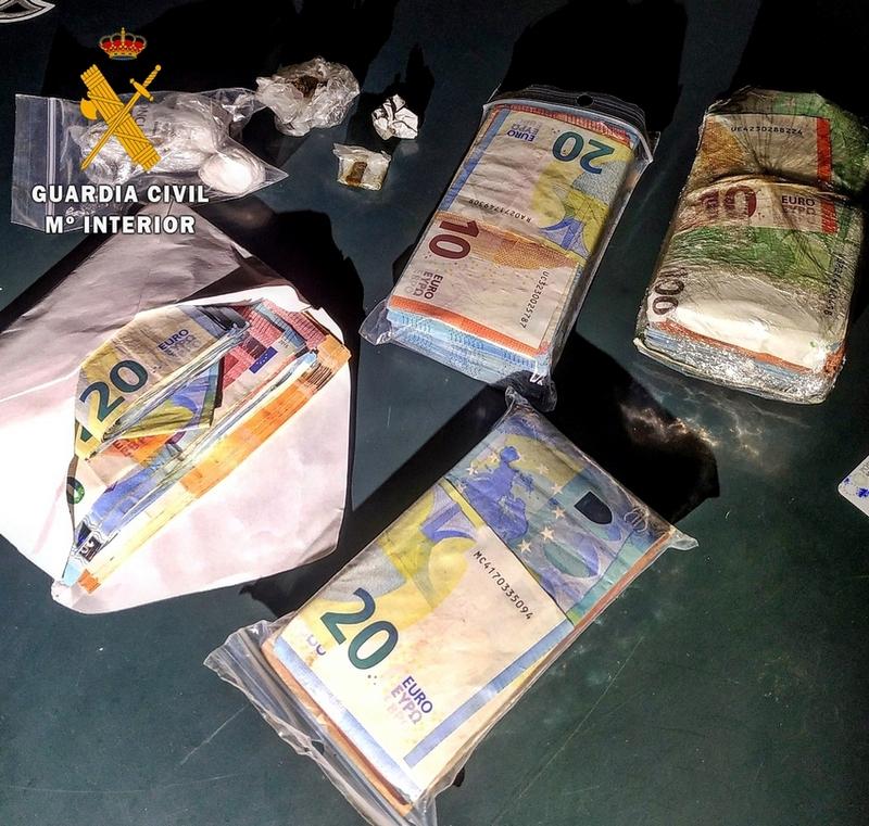 Detienen en Badajoz a un ciudadano portugués por tráfico de drogas