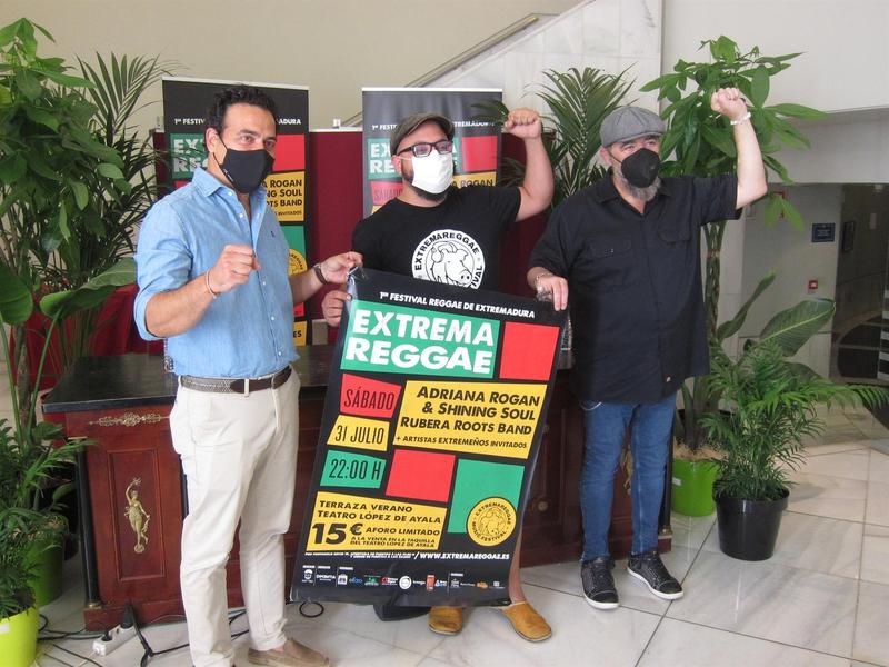 El I Festival Reggae de Extremadura se celebra en Badajoz con Adriana Rogan y Rubera Roots Band junto a Gene García