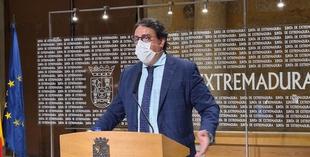 El Hospital Universitario de Badajoz contará con un nuevo aparcamiento
