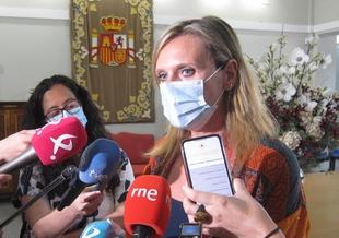 García Seco dice que el Gobierno ''continuará trabajando por el Casco Antiguo de Badajoz''
