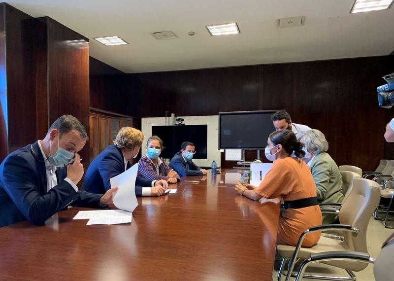 Junta de Extremadura, Ayuntamiento y Diputación de Badajoz se comprometen a poner en marcha el Consorcio del Casco Antiguo antes de fin de 2021