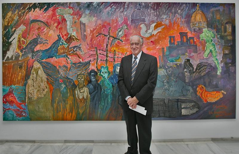 Francisco Pedraja es homenajeado en el MUBA
