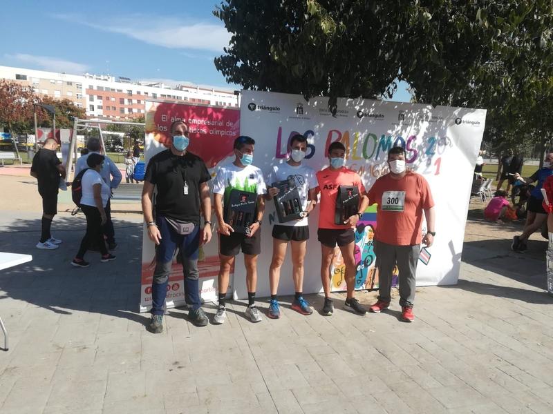 Casi 300 participantes en La V Carrera de los Palomos