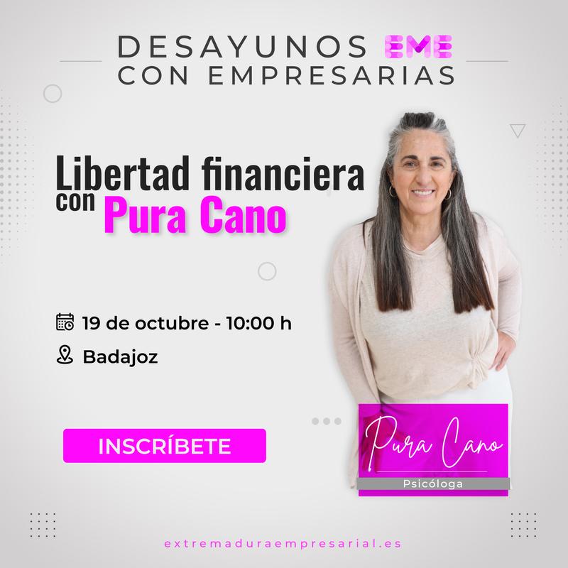 La red profesional de mujeres 'Conectadas en EME' celebra el 19 de octubre un desayuno presencial en Badajoz
