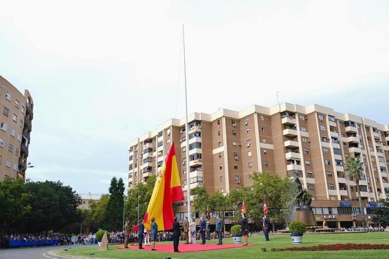 Badajoz celebró el Día de la Fiesta Nacional