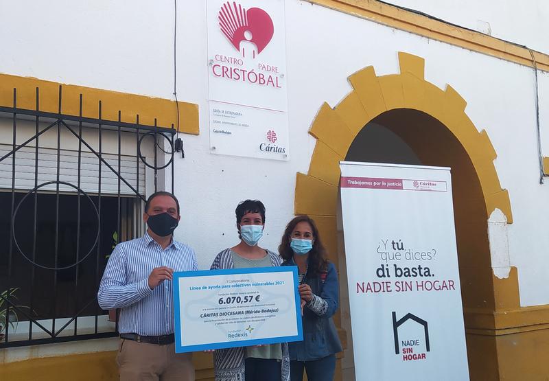 La Fundación Redexis apoya a Cáritas Diocesana de Mérida-Badajoz para la mejora de la eficiencia energética del Centro Padre Cristóbal