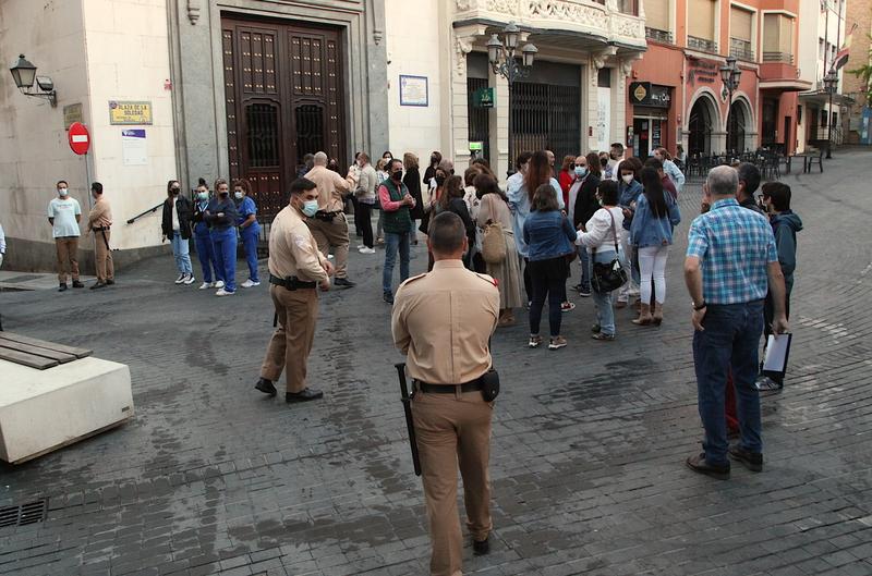 Desalojado el Museo de Bellas Artes de la Diputación de Badajoz por un simulacro de evacuación