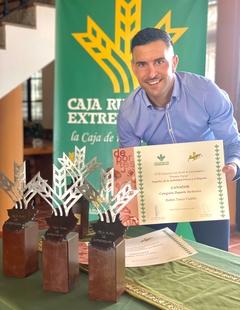 Rubén Tanco, galardonado con los Premios Espiga 2021