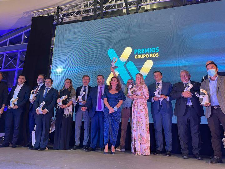 La Casa de las Carcasas, Mario Alonso Ayala, presidente de Auren, y José Javier Hombrados ganadores Premios Grupo ROS 2021