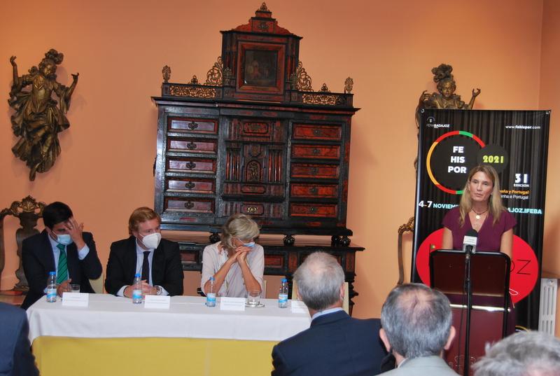 Presentación de la 31ª Fehispor, Feria de España y Portugal en Lisboa